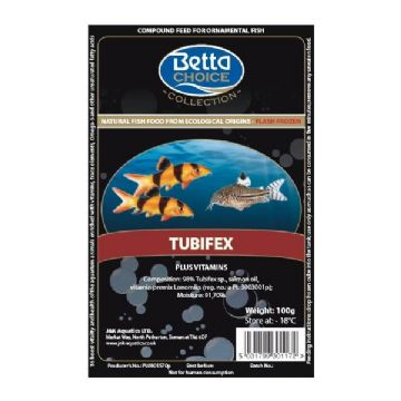 Betta Choice Frozen Tubifex
